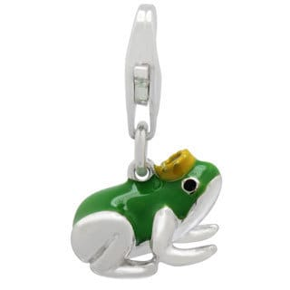 Gioelli Sterling Silver Frog Prince Charm