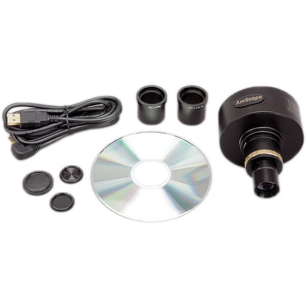 10MP Microscope Digital Camera with Focusable Lens