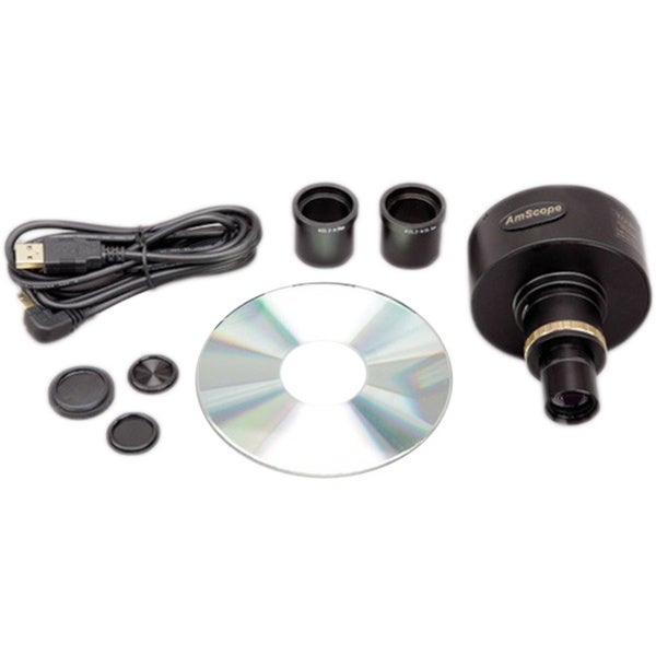 10MP Microscope Digital Camera with Focusable Lens and Calibration Kit
