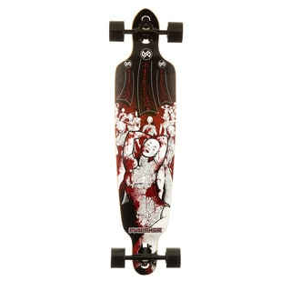 Punisher Skateboards Mannequin Drop Down Complete 40-Inch Longboard with Mild Concave