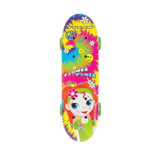 Titan Flower Power 17-inch Complete Skateboard for Girls