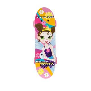 Titan Flower Princess Complete 17-Inch Skateboard