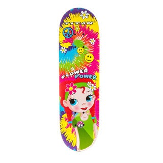 Titan Flower Power Girls 28-Inch Skateboard