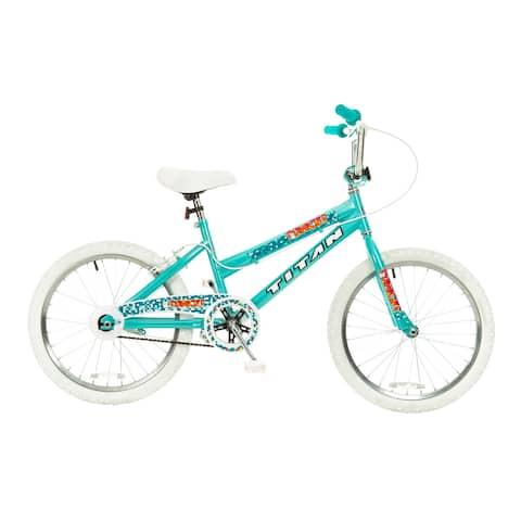 Titan Tomcat Girls Teal Blue 20-Inch BMX Bike