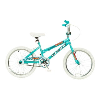 Titan Tomcat Girls Teal Blue 20-Inch BMX Bike