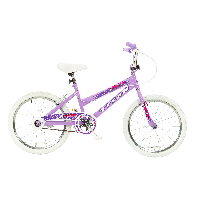 Titan Tomcat Girls Lavender 20-Inch BMX Bike (Lavender To...