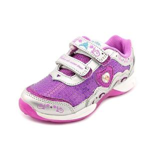 Stride Rite Girl (Youth) 'Disney Wish Lights Anna & Elsa H&L' Leather Athletic Shoe