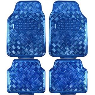 BDK Metallic Automotive Floor Mats (Set of 4) (3 options available)