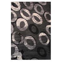 Cosmopolitan Grey Area Rug (7'3 x 10')