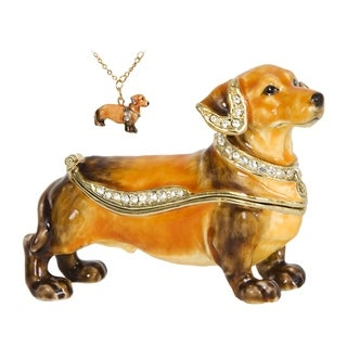 Dachshund Trinket Box