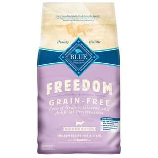 Blue Buffalo Blue Freedom Grain Free Dry Kitten Food