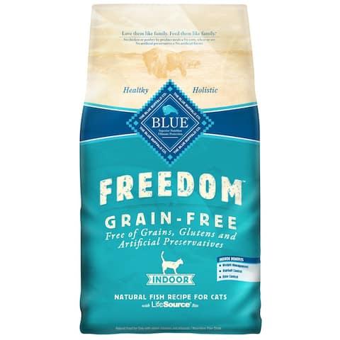 Blue Buffalo Freedom Grain-Free Indoor Fish Recipe Dry Cat Food