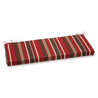 Pillow Perfect Monserrat Red Bench Cushion