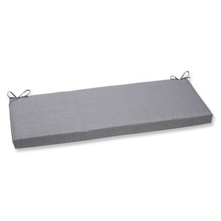 Pillow Perfect Rave Graphite Bench Cushion