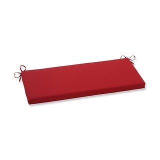 Pillow Perfect Pompeii Red Bench Cushion