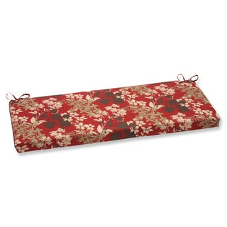 Pillow Perfect Montifleuri Red Bench Cushion