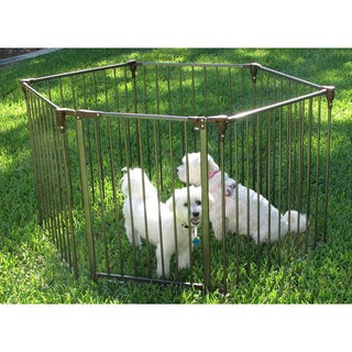 Crown Pet Heavy Duty Convertible Metal Pet Exercise Pen