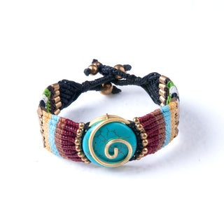 Handmade Colorful Bohemain Bracelet (Thailand)