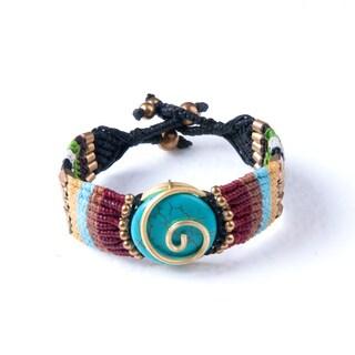 Handmade Colorful Bohemain Bracelet (Thailand)