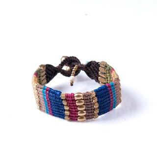Colorful Handmade Bohemain Bracelet (Thailand)