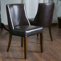 Harman Bonded Leather Dining Chair (Set of 2)