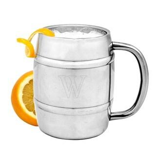Personalized 14 oz. Double-wall Beer Keg Mug