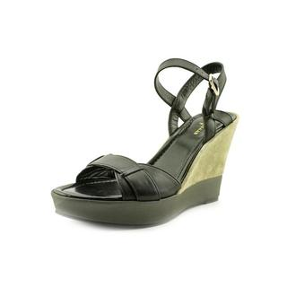 Cole Haan Women's 'Paley High.Wedge' Leather Sandals