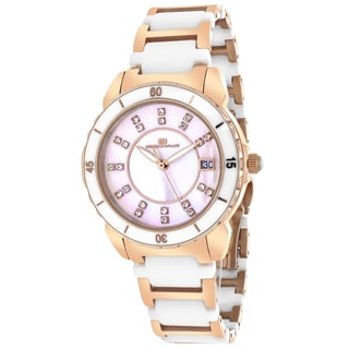 Oceanaut OC2413 Women's Charm Round Two-tone Bracelet Watch
