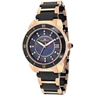 Oceanaut OC2412 Women's Charm Round Two-tone Bracelet Watch