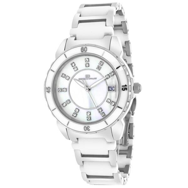 Oceanaut Women's Charm Round Two-tone Bracelet Watch