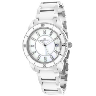 Oceanaut OC2411 Women's Charm Round Two-tone Bracelet Watch