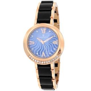 Christian Van Sant CV7614 Women's Eternelle Round Rose gold Bracelet Watch