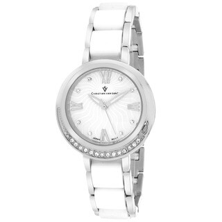 Christian Van Sant CV7610 Women's Eternelle Round Silver Bracelet Watch