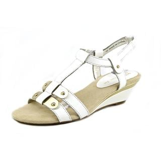 Anne Klein Women's 'Narelle' Leather Sandals
