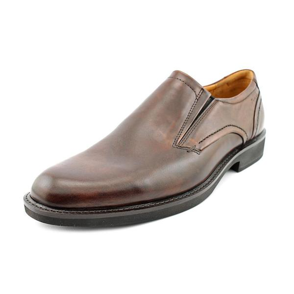b5a44623b160 Shop Ecco Men s  Biarritz Slip On  Leather Dress Shoes - Ships To ...