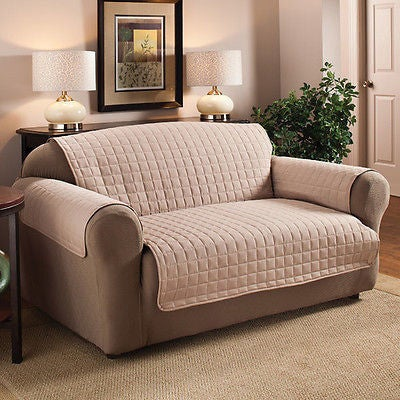 Quilted Microfiber Water-repellent Chair Protector