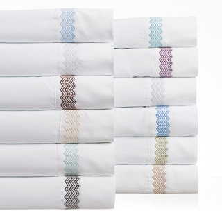 Matisse Hotel Collection 3D Chevron Sheet Set