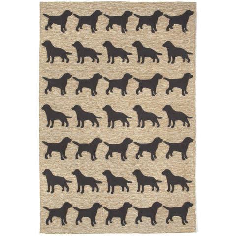 Liora Manne Frontporch Doggies Indoor/Outdoor Mat