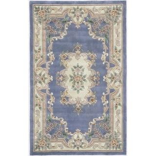 Iona Hand-Tufted Wool Oriental Area Rug - 5' x 8'