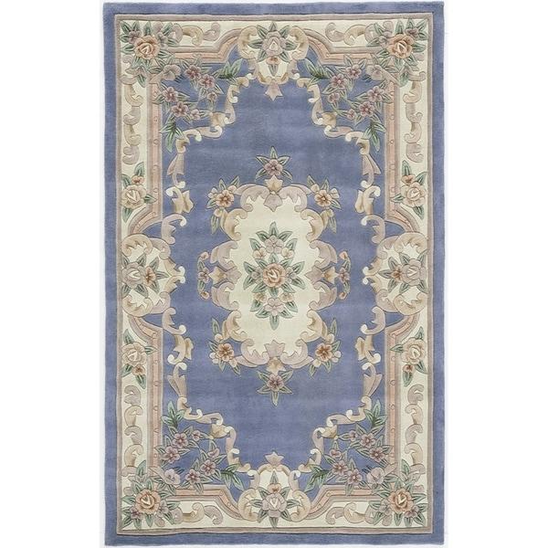 Iona Hand-Tufted Wool Oriental Area Rug (5' x 8')