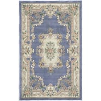 Iona Hand-Tufted Wool Oriental Area Rug - 5' x 8'