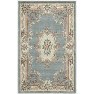 Caleb Hand-Tufted Wool Oriental Area Rug (60 x 96)