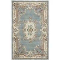 Caleb Hand-Tufted Wool Oriental Area Rug (5' x 8')