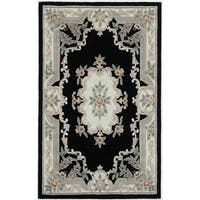 Easton Hand-Tufted Wool Oriental Area Rug - 5' x 8'