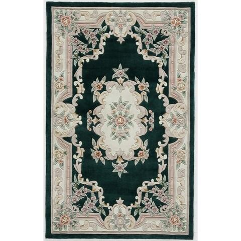 Inez Hand-Tufted Wool Oriental Area Rug (5' x 8')