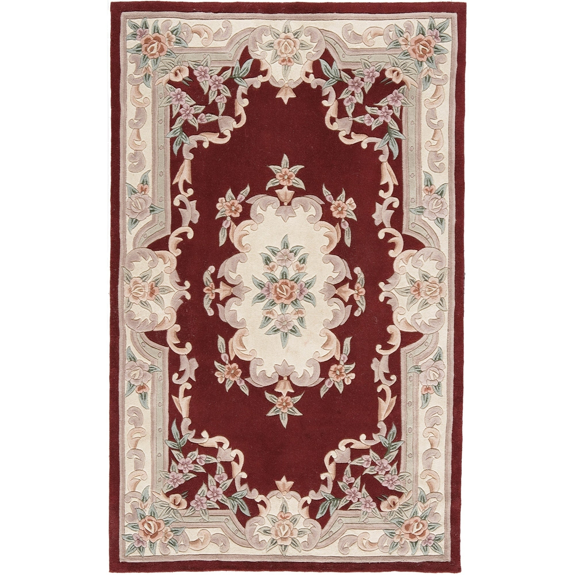Bergen Hand Tufted Wool Oriental Area Rug 5 X 8 5 X 8 On Sale Overstock 9639013