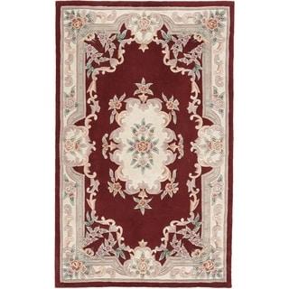 Bergen Hand-Tufted Wool Oriental Area Rug (5' x 8') - 5' x 8'