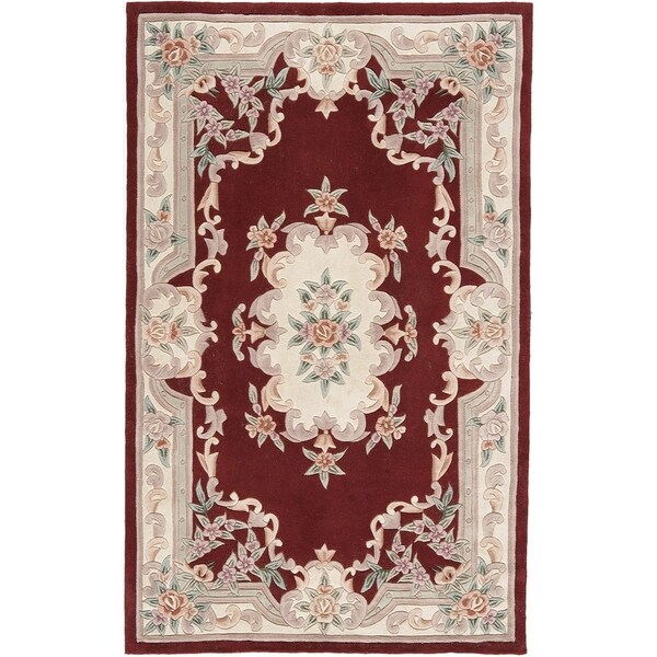 Bergen Hand-Tufted Wool Oriental Area Rug (5' x 8') - 5' x 8'
