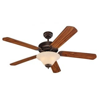 Quality Pro Deluxe 52-inch Roman Bronze Finish Ceiling Fan