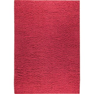 M.A.Trading Hand-woven London Mix Red New Zealand Wool Rug (3'x 5'4)
